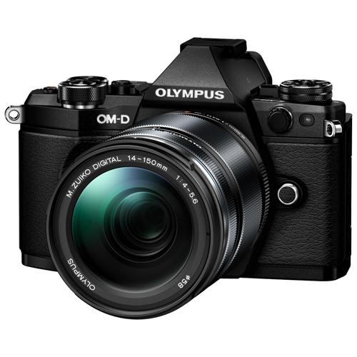Фотоаппарат Olympus OM-D E-M5 Mark II Kit черный M.Zuiko Digital ED 14‑150mm F4‑5.6 II