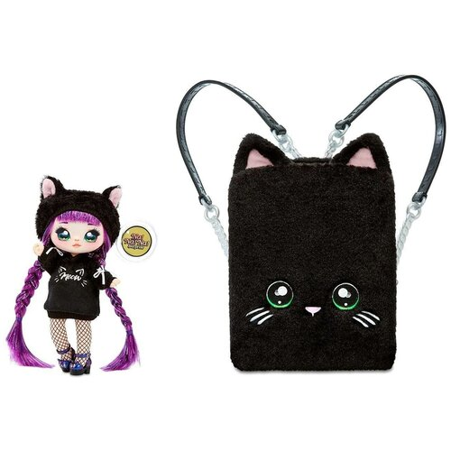 Кукла Na! Na! Na! Surprise 3-in-1 Backpack Bedroom Playset Black, 569749 недорого