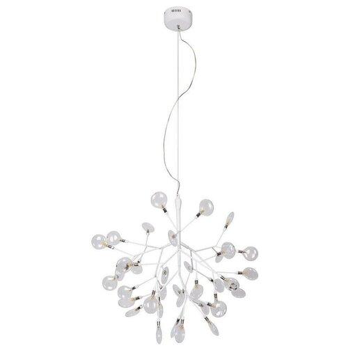 Подвесная люстра Crystal Lux Evita SP36 White/Transparent недорого