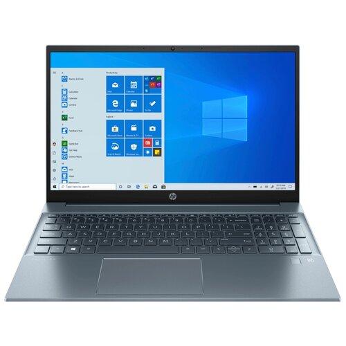 Фото - Ноутбук HP Pavilion 15-eg0100ur (Intel Core i3 1125G4/15.6/1920x1080/8GB/512GB SSD/Intel UHD Graphics/Windows 10 Home) 3B3E8EA, синий ноутбук hp pavilion 15 eg0047ur intel core i3 1115g4 3000mhz 15 6 1920x1080 8gb 512gb ssd intel uhd graphics windows 10 home 2x2s2ea темно бирюзовый светло бирюзовый