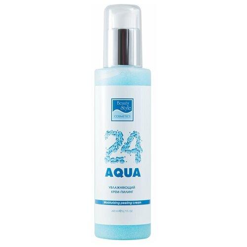 Beauty Style крем-пилинг для лица Aqua 24 увлажняющий 200 мл