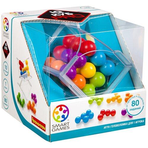 Головоломка BONDIBON Smart Games IQ-Куб PRO (BB3332) головоломка bondibon smart games iq конфетки вв1353