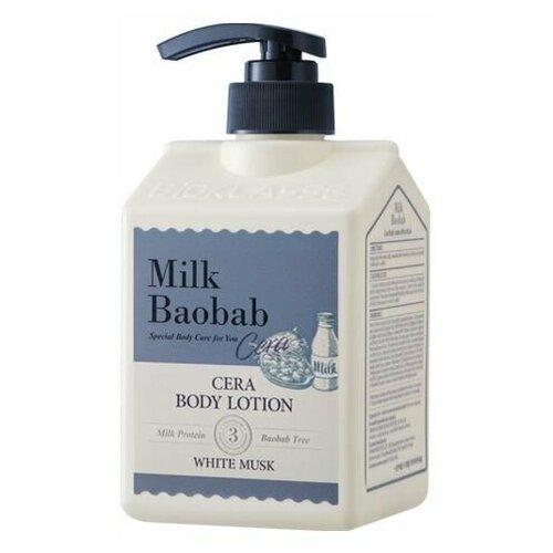 Лосьон для тела с керамидами, с ароматом белого мускуса MilkBaobab Cera Body Lotion White Musk