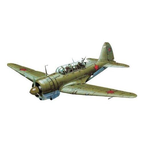 Купить Модель для сборки Моделист Авиация Советский бомбардировщик конструкции П.О. Сухого тип 2 (ББ-1) (1:72), Сборные модели