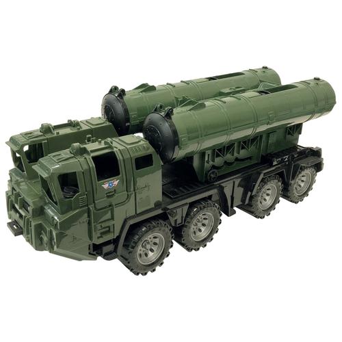 Купить Ракетная установка Нордпласт Щит (259), 55 см, зеленый, Машинки и техника