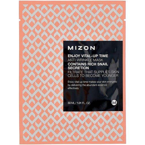 Тканевая маска Mizon Enjoy Vital-Up Time Anti Wrinkle (1 шт.), 30 мл недорого