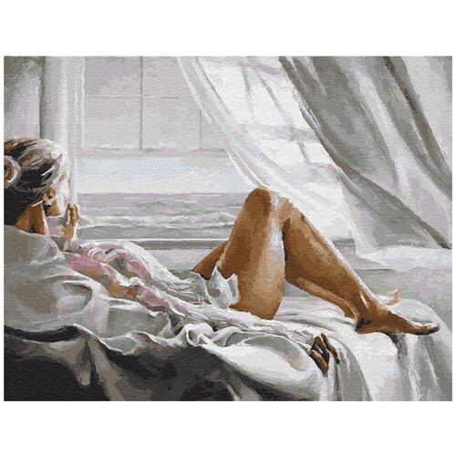 Купить Картина по номерам ВанГогВомне Утреннее и женственное 40х50 см, ВанГогВоМне, Картины по номерам и контурам