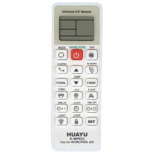 Пульт Huayu для WHIRLPOOL K-WP633 для кондиционера, универсальный