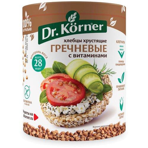 Фото - Хлебцы гречневые Dr. Korner с витаминами 100 г хлебцы многозерновые dr korner злаковый коктейль яблоко и корица 90 г