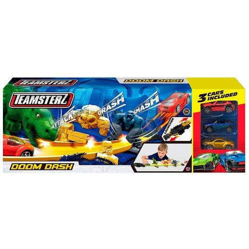 Купить Трек Teamsterz Doom Dash 1416671, Детские треки и авторалли