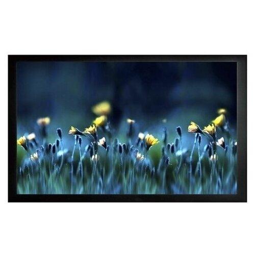 На раме матовый белый экран cactus FrameExpert CS-PSFRE-200x113