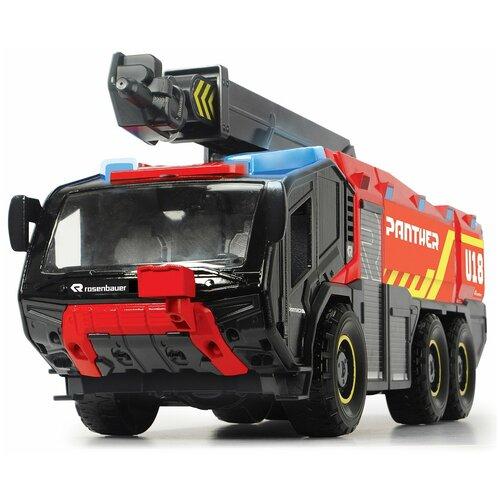 Фото - Пожарный автомобиль Dickie Toys 3719020 62 см красный/черный гидроцикл dickie toys пожарный сэм джуно с фигуркой и аксессуарами 9251662 красный желтый