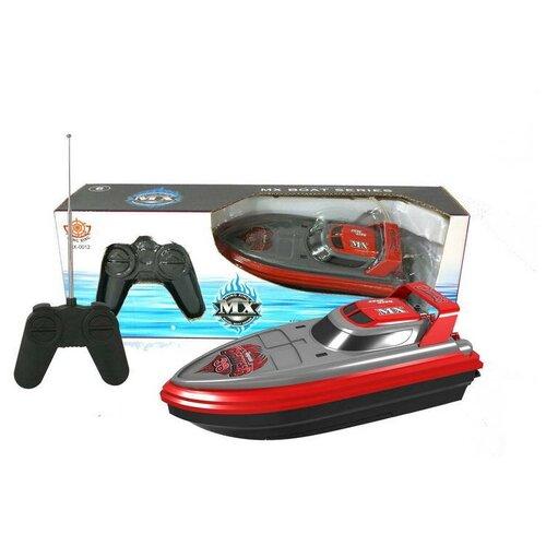 Катер Ming Xing Toys MX-0012-4 черный/красный/серый