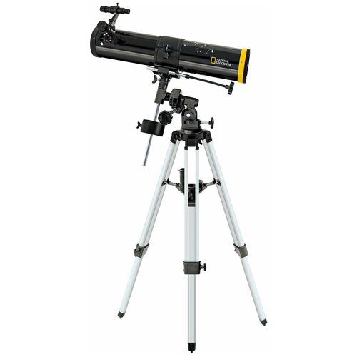 Телескоп National Geographic 76/700 EQ черный/серый