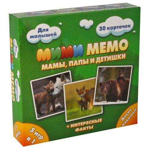 Настольная игра Нескучные игры Мими Мемо Дикие животные недорого