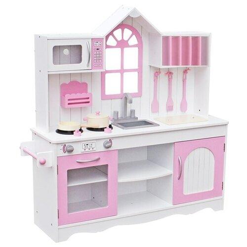 Кухня Lanaland Прованс W10C346 белый/розовый
