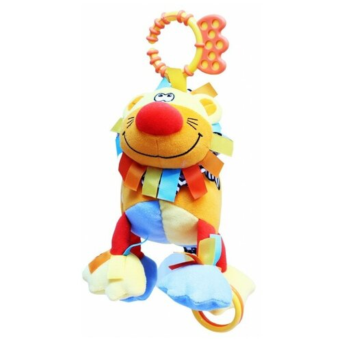 Фото - Подвесная игрушка ROXY-KIDS Львенок Бьонс (RBT20003) развивающая игрушка roxy kids на руку с прорезывателем совенок угу rbt20024
