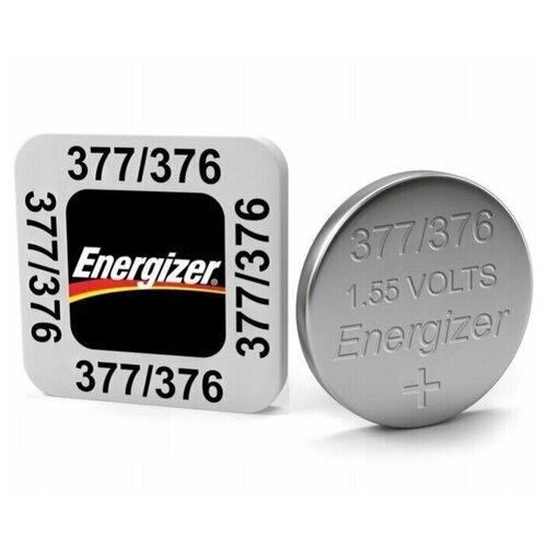 Фото - Батарейка Energizer 377/376, 5 шт. батарейка energizer max plus aa 4 шт
