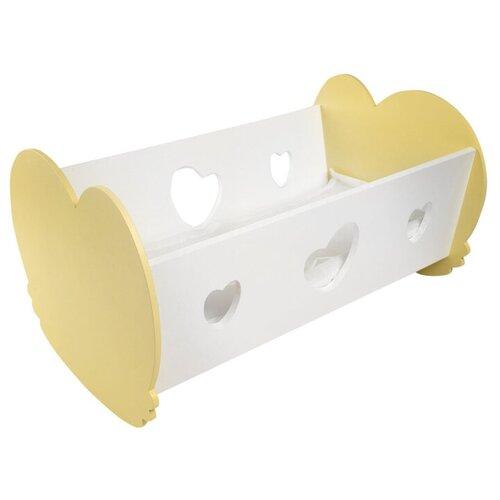 Фото - PAREMO Кроватка-люлька для кукол (PFD120) желтый paremo набор мебели для кукол цветок pfd120 45 pfd120 46 pfd120 44 pfd120 42 pfd120 43 белый фиолетовый