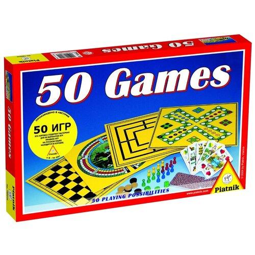 Набор настольных игр Piatnik 50 игр