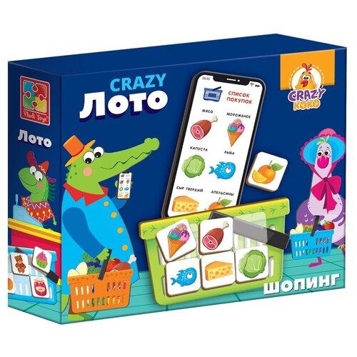 Фото - Настольная игра Vladi Toys CRAZY Лото настольная игра vladi toys мир машин