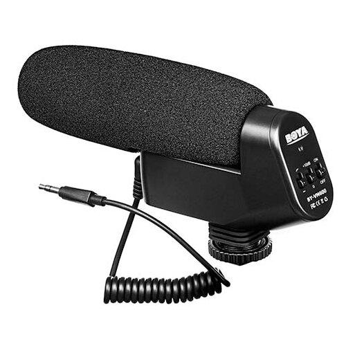 Микрофон Boya BY-VM600, направленный, моно, 3.5 мм