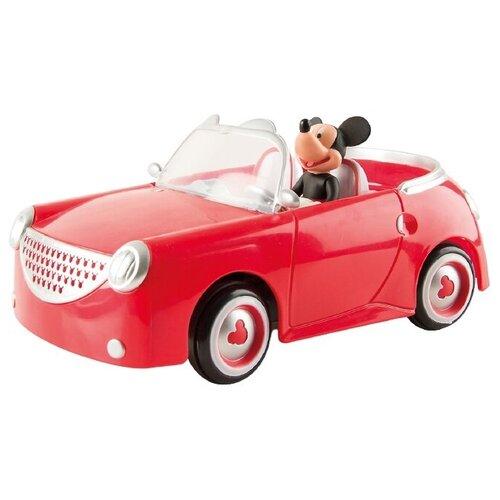 Купить Машинка IMC Toys Микки и весёлые гонки: Кабриолет Микки (180062) 25 см красный, Радиоуправляемые игрушки