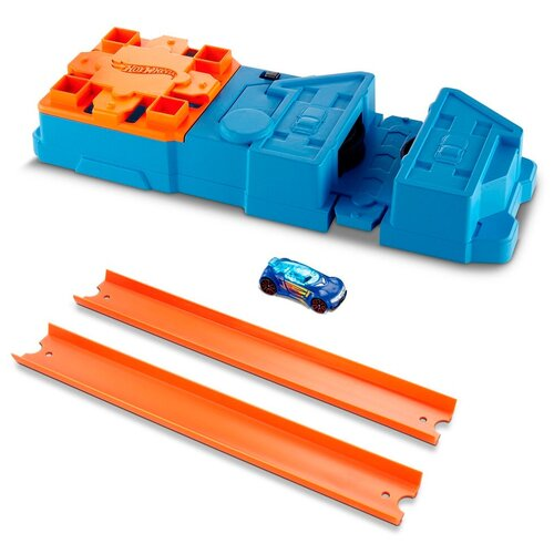 Трек Hot Wheels Track Builder Booster Pack GBN81 launcher track t rex rampage hot wheels