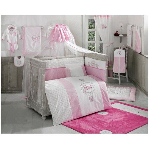 Купить Комплект Kidboo из 6 предметов серии Rabbitto (Pink), Постельное белье и комплекты