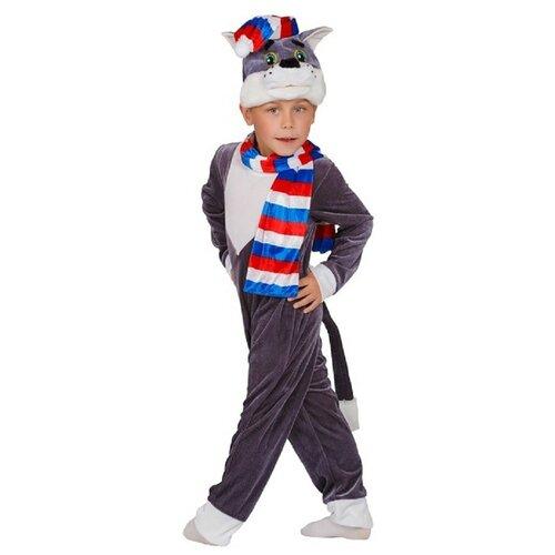 Купить Костюм Маскарад у Алисы Кот Матрос (202110), серый, размер 28(116), Карнавальные костюмы