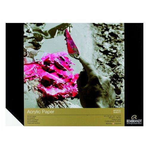 Фото - Альбом для акрила Royal Talens Rembrandt 32 х 24 см, 400 г/м², 10 л. альбом для акварели royal talens rembrandt 32 х 24 см 300 г м² 20 л