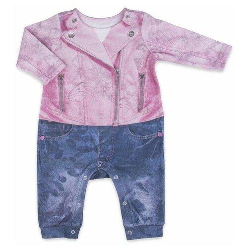 Фото - Комбинезон Папитто, размер 86, розовый/синий комбинезон playtoday размер 86 синий