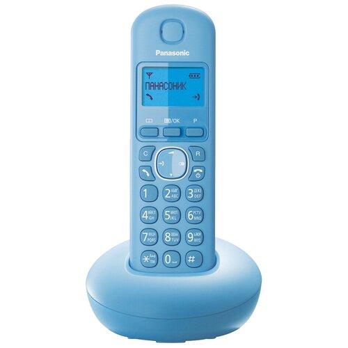 Фото - Радиотелефон Panasonic KX-TGB210 голубой радиотелефон panasonic kx tgb210 красный