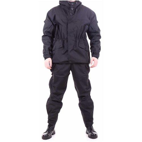 Костюм KE Tactical Горка-3 рип-стоп черный 170 – 176 52-54 костюм ke tactical горка мембрана на флисе multicam 170 – 176 52 54