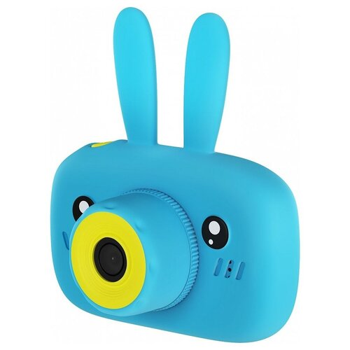 Фото - Фотоаппарат Children's Fun Camera Зайчик синий фотоаппарат gsmin fun camera rabbit со встроенной памятью и играми голубой