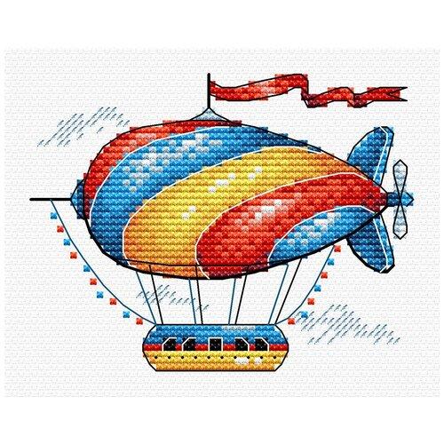Набор для вышивания М №03 №365 Сказочный аэростат 11 х 8 см