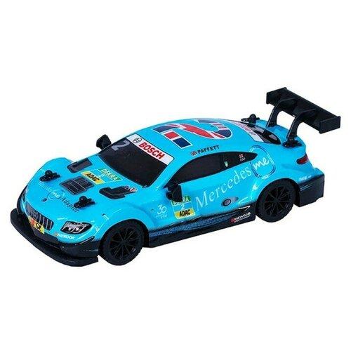 Гоночная машина Wincars Mercedes-AMG C63 DTM 1:24 голубой радиоуправляемая машинка wincars mercedes amg c63 dtm р у масштаб 1 24 ys 2035