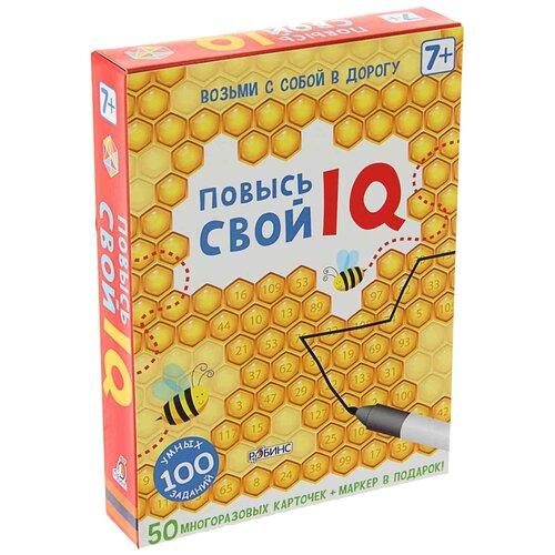 Купить Настольная игра Робинс Асборн-карточки. Повысь свой IQ, Настольные игры