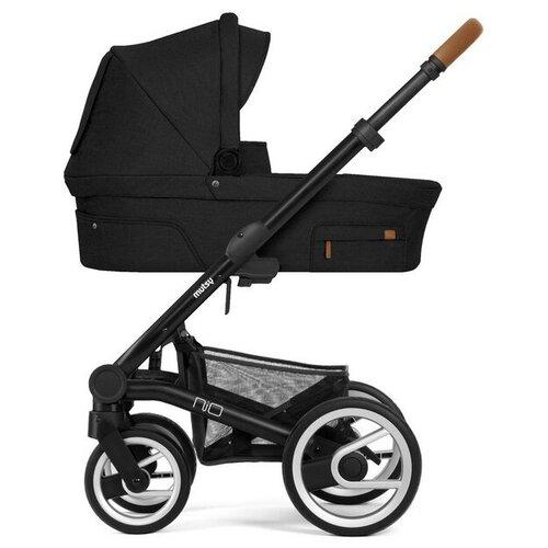 Фото - Универсальная коляска Mutsy Nio North (2 в 1), black/cognac grip black, цвет шасси: черный универсальная коляска indigo charlotte duo 2 в 1 ch31 цвет шасси черный