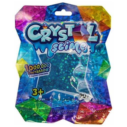 Слайм SLIME Crystal голубой