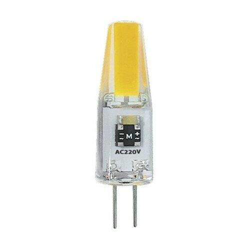 Светодиодная лампа G4 Лампа PLED-G4 COB 3w 240Lm 3000K 220В Jazzway
