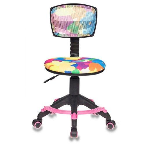 Компьютерное кресло Бюрократ CH-299-F детское, обивка: текстиль, цвет: abstract компьютерное кресло бюрократ ch 204nx детское детское обивка текстиль цвет синий карандаши