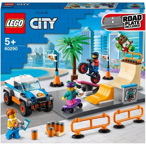 Купить Конструктор LEGO City 60290 Скейт-парк, Конструкторы