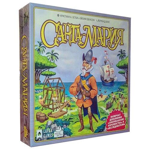 Настольная игра Lavka Games Санта-Мария с дополнением Американские королевства