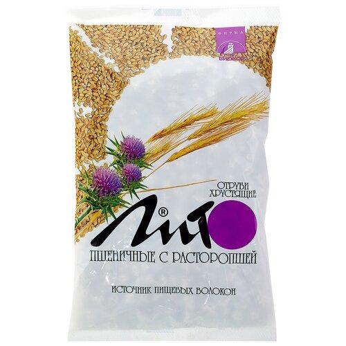 Отруби Лито пшеничные хрустящие с кальцием и расторопшей, 200 г отруби сибирские пшеничные с черникой 200 г