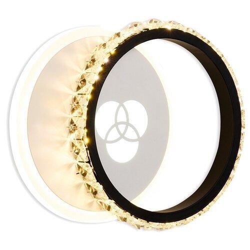 Фото - Настенный светильник Ambrella light Ice FA228 WH, 16 Вт настенный светильник ambrella light fa565 wh s белый песок 13 вт