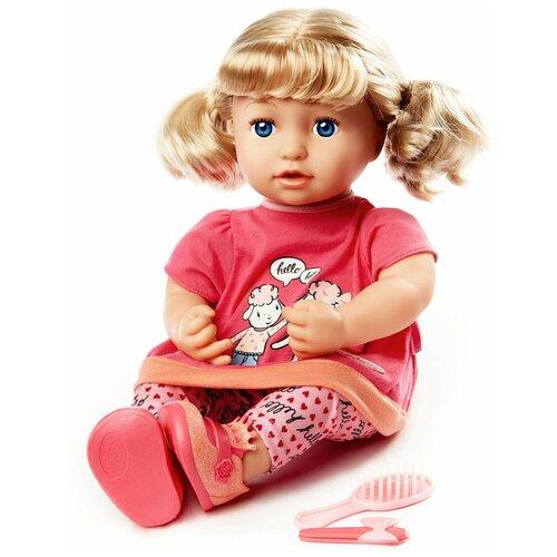 Фото - Интерактивная кукла Zapf Creation Baby Annabell Джулия, 43 см, 700-662 бутылочка zapf creation baby annabell 700 976 розовый