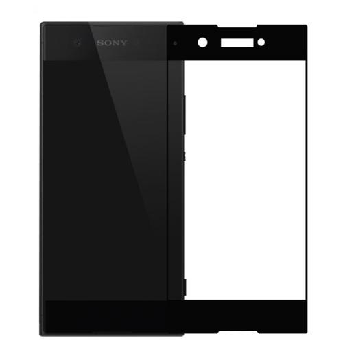 3D/5D защитное стекло MyPads для Sony Xperia XA2 Dual с закругленными изогнутыми краями которое полностью закрывает экран / дисплей по краям с олеофобным покрытием