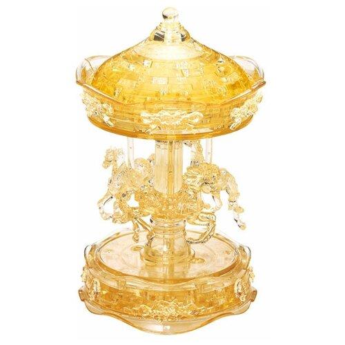Фото - 3D-пазл Crystal Puzzle Золотая карусель (91109), 83 дет. 3d пазл crystal puzzle дельфин 91004 95 дет