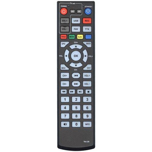 Фото - Пульт Huayu VER.U6 (421UD)(пду-6 +TV) для dvb ресиверов ORIEL пульт huayu пду 5 ver 5 supra df00 для dvb ресиверов oriel